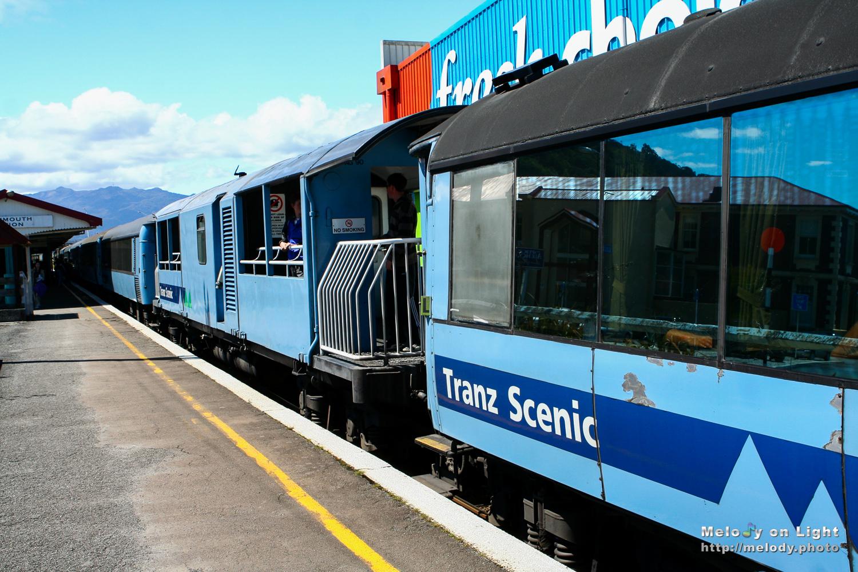 Tranz Scenic, New Zealand